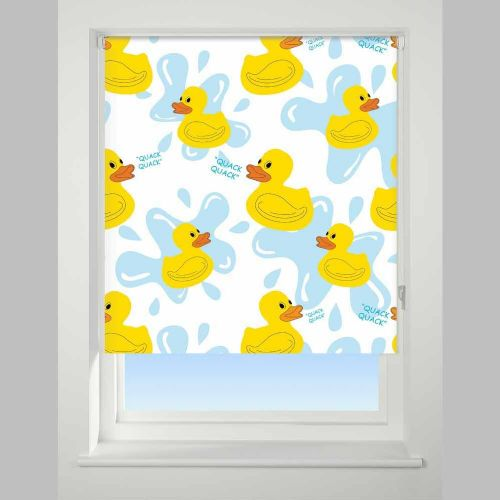 Universal Daylight Patterned Roller Blind - Quack Quack